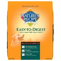 Nature's Recipe Easy to Digest Chicken Meal Rice & Barley Natural Dog Food 15lbs