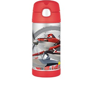 Thermos FUNtainer Bottle, Planes, 12 Ounce 水筒