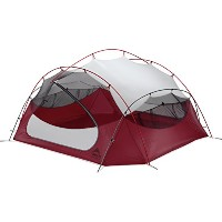 MSR PAPA HUBBA NX 4 PERSON BACKPACKING TENT (RED) (Parallel Import)