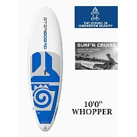 "STARBOARD (スターボード) WHOPPER Star Shot 2017 SUP 10'0""x34"" [WHITE] スタンドアップパドルボード FIN付き"
