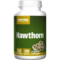海外直送品Jarrow Formulas Hawthorn, 100 Caps 500 mg(Pack of 2)