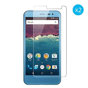 Sharp AQUOS U SHV35 / Android One 507SH 専用保護フィルム 強化ガラス 9H硬度 2.5D 0.33mm極薄 クリア 透明感 耐指紋 撥油性 低反射 気泡ゼロ...
