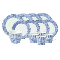 Pacific by Royal Doulton 16-Piece Set, Blue by Royal Doulton