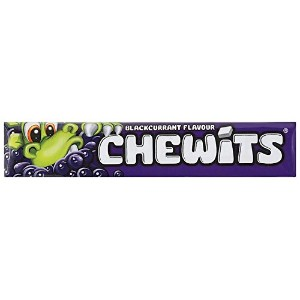 Chewits Blackcurrant Flavour (30g X 20) チューイッツ カシス 30g X 20