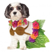 Rubies Costume Company Hula Girl Pet Costume, Small 小型犬用フラガールコスチューム