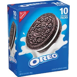 Nabisco Oreo Sandwich Cookies, 5.25 oz x 10 パック ナビスコ オレオ