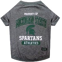 Michigan State Spartans Pet Shirt XS