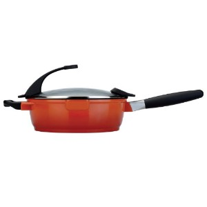 BergHOFF Virgo 10-Inch Covered Deep Skillet, 3.1-Quart[【並行輸入】