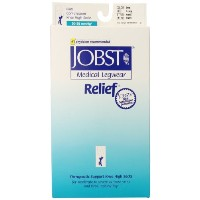 ????? Jobst Medical Legwear Close-Toe Knee High Support Stockings Beige Extra Large, Extra Large...