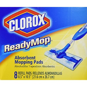 Clorox/Home Cleaning14901Ready Mop Pads-8CT READY MOP PAD REFILL (並行輸入品)