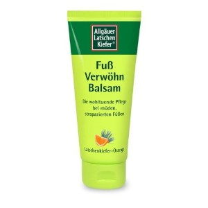 ALLGテッツソツスUER LATSCHENK. Foot pampering balm