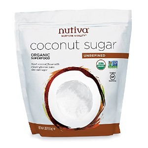 Nutiva Coconut Sugar Unrefined Organic - 1.81kg オーガニック ココナッツシュガー