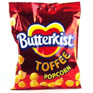 Butterkist Popcorn - Toffee (100g) Butterkistポップコーン - タフィー( 100グラム)