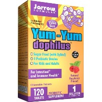 海外直送品Jarrow Formulas Yum Yum Dophilus, 120 Caps 1 BILLION ORGANISMS PER 2 CAP