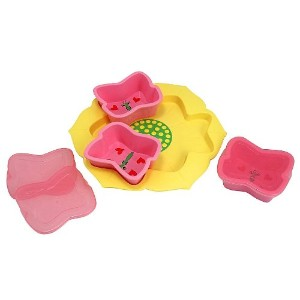 Melissa And Doug Bella Butterfly Bowls And Tray Set (並行輸入品)