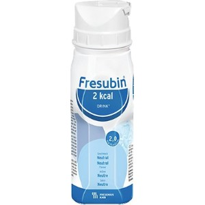 Fresubin 2kcal DRINK Neutral, 200 ml - Drink Supplement - 24 EasyDrinks by FRESUBIN