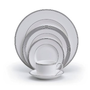 Vera Wang Wedgwood Grosgrain 5-Piece Place Setting, Service for 1 by Wedgwood