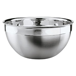 Rösle - Bowl with Pouring Rim - Suitable for Preparation Serving and Storage - Stainless Steel -...