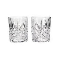 Godinger Dublin Crystal Set of 12 Double Old Fashioned Glasses by Godinger