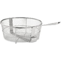 All-Clad 59930 Dishwasher Safe Fry Basket / Cookware, 6-Quart, Silver by All-Clad