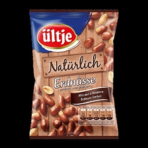 ultje peanuts - ultjeピーナッツ - 6x Naturlich, roasted and salted 200 g - 7,05 oz - 6X当然とロースト塩蔵200グラム -...