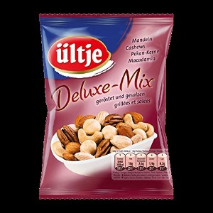 ultje Nuss-(fruit-) Mix - ultjeナット(フルーツ)ミックス - 6x Deluxe-Mix, roasted and salted 150 g - 5,29 oz -...