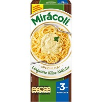 MiracoliR Linguine 3 Portionen Kase Krauter 265 g - 9,35 oz - MiracoliRリングイネ3人前チーズハーブ265グラム - 9...