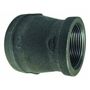 Mueller BK Black Reducing Coupling-1-1/2X1-1/4 BLK COUPLING (並行輸入品)