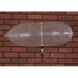 Chimney Balloon 33x12 Inflatable Fireplace Blocker (Large Chimney Pillow by Chimney Balloon