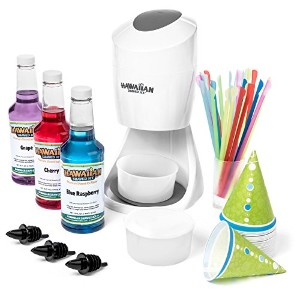 Snow Cone Machine and Syrup Party Package by Hawaiian Shaved Ice by Hawaiian Shaved Ice [並行輸入品]