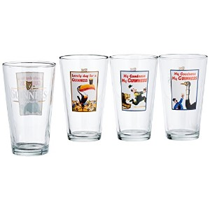 Luminarc Guinness 16-Ounce Assorted Pub Glasses 4 Count by Luminarc
