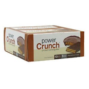 Bio Nutritional - Power Crunch Cookie - 12 per Box - Peanut Butter Fudge by Bio Nutritional