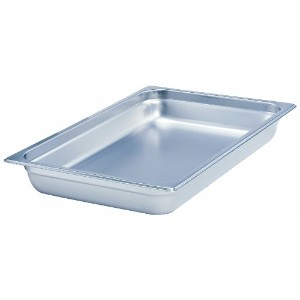 Crestware SAF-T-STAK Half Long x 4-Inch Pan by Crestware [並行輸入品]