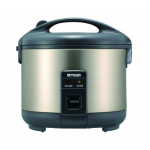 Tiger JNP-S10U-HU 5.5-Cup (Uncooked) Rice Cooker and Warmer, Stainless Steel Gray by Tiger...