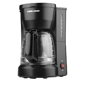 【並行輸入】Black & Decker DCM600B 5-Cup Coffeemaker, Black コーヒーメーカー