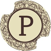 Thirstystone Monogram P Car Cup Holder Coaster, by Thirstystone