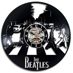 The Beatles Art Vinyl Wall Clock Fan Gift Children's Room Decor Idea Home Art Party - Win a prize...