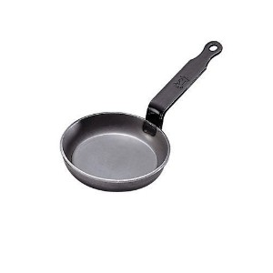 De Buyer Blini Pan、4 – 3 / 4インチ、carbon-steel