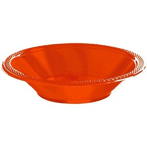 Orange Peel 12 oz. Plastic Bowls | 20ct by Amscan