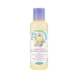 Earth Friendly Baby Shea Butter Massage Oil 125 ML (order 6 for trade outer) /