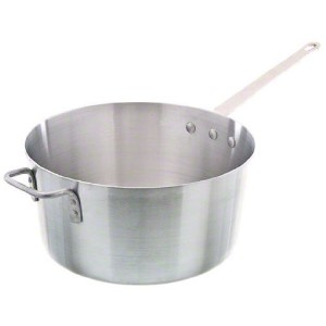 Update International ( asp-7 ) 7 QtアルミSauce Pan w /ヘルパーハンドル