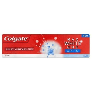 Colgate White Maximum Optic Toothpaste, 75ml by Colgate Palmolive
