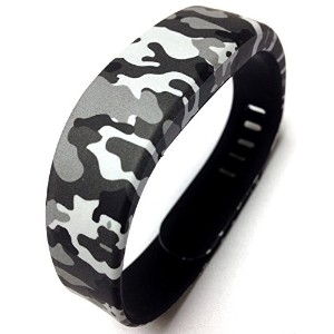 1pc Replacement Camouflage Army Camo Military Band & Metal Clasp For Sony Smartband Wrist Strap...