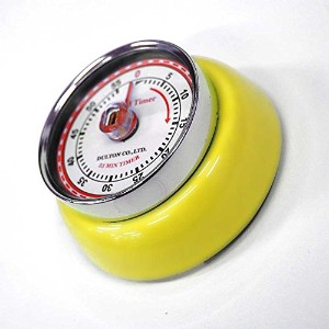 ダルトン COLOR KITCHEN TIMER WITH MAGNET イエロー