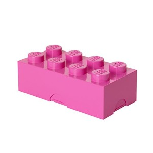 Lego Lunch Box 8 Medium Pink