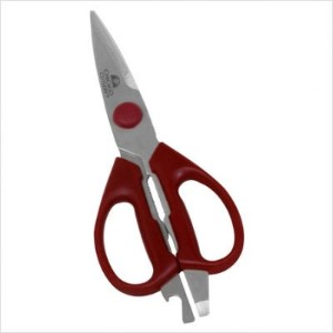 Chicago Cutlery Deluxe Shears Red by Chicago Cutlery