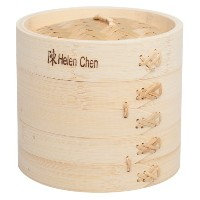 Helen Chen's Asian Kitchen Bamboo Steamer, 6-Inch by HIC Harold Import Co.