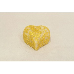 Bee My Candle ハイビスカス Heart(Gold)