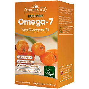 Natures Aid Omega-7 Sea Buckthorn Oil 90 by Natures Aid