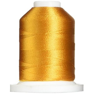 Rayon Super Strength Thread Solid Colors 1100 Yards-Sun Gold (並行輸入品)